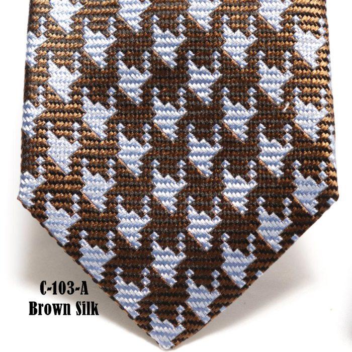 Teardrop Silk Necktie C103A