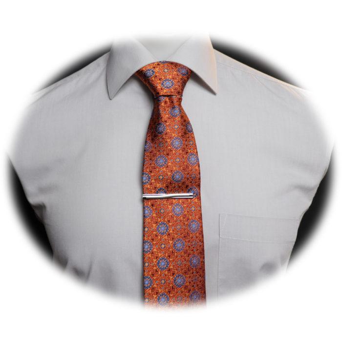 Silk Flourald necktie C104