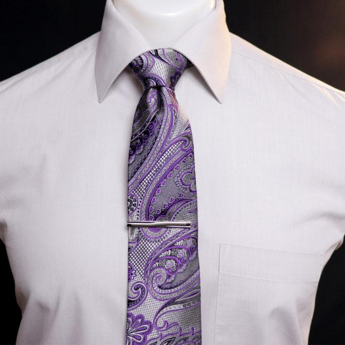 Silk Paisley neck tie C106cov