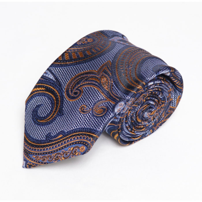 Silk Paisley neck tie C110Roll