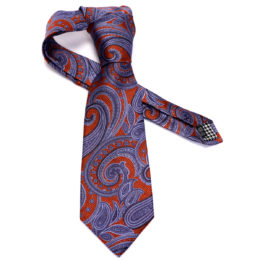 Silk stripe Italian handmade Tie C105