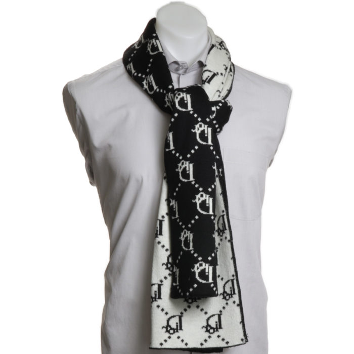 Dior Wool Scarf Made in Italy