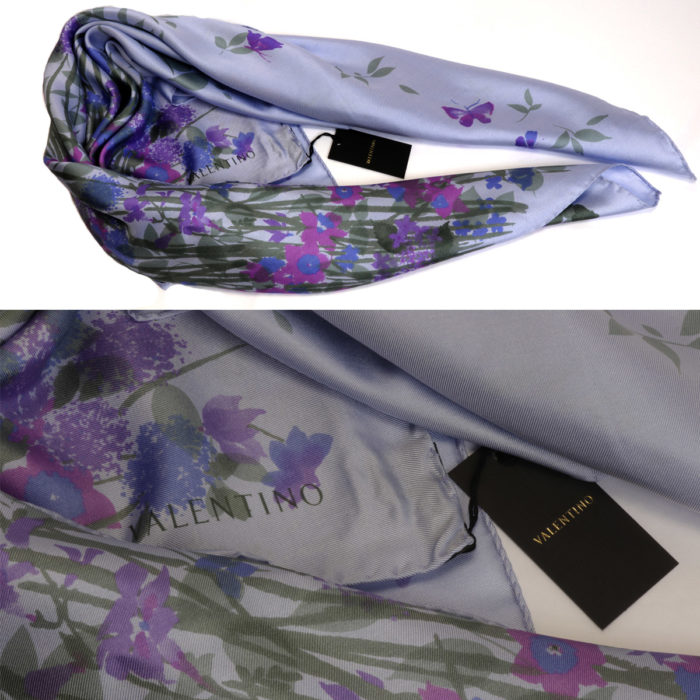 Floral Silk made in Italy Scarves