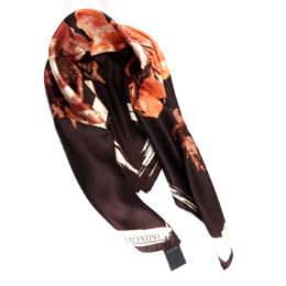 Foulard Silk made in Italy Scarves