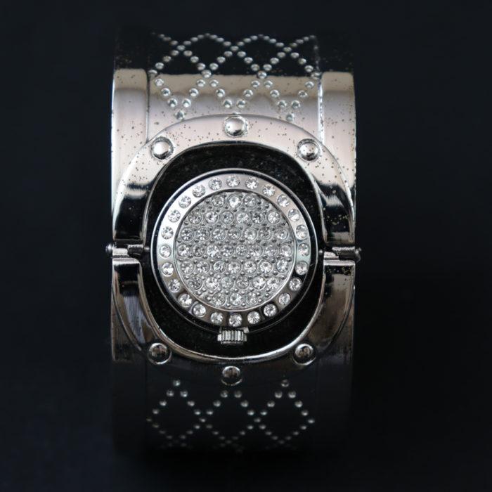 Pitone Bangle cuff bracelet Watch