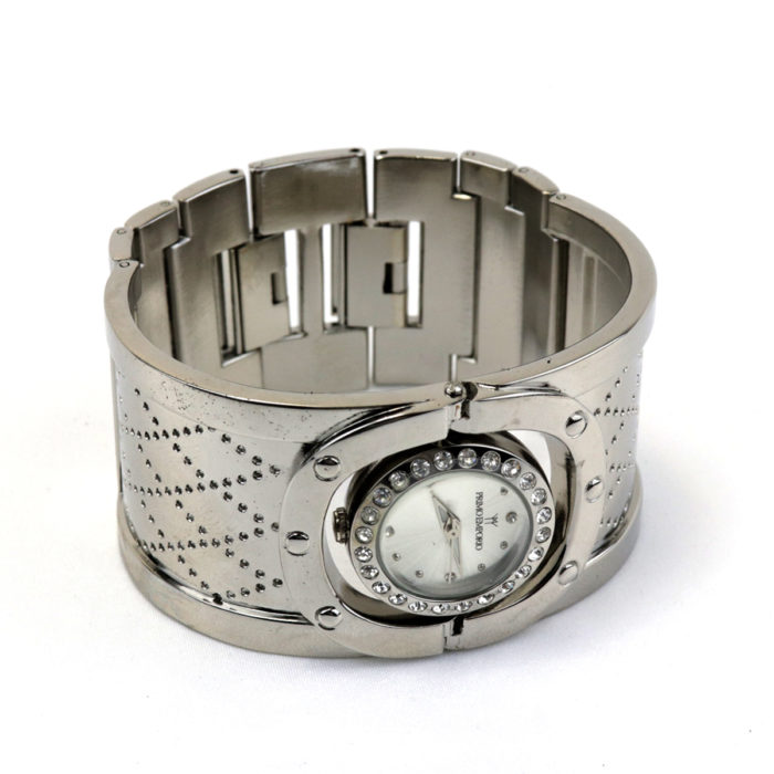 Pitone Bangle cuff bracelet Watch