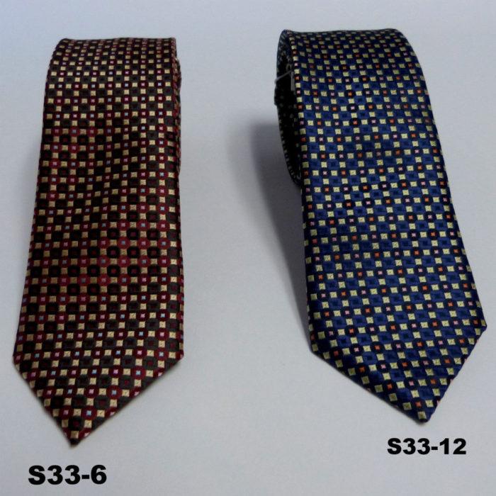 Giovanni Testi T33 Check tie