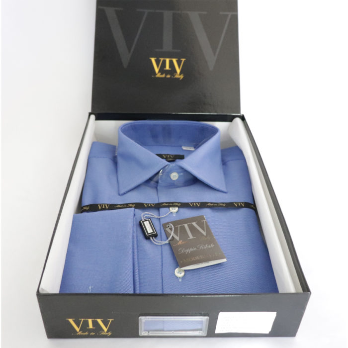 VIV French cuff Italian dress shirt