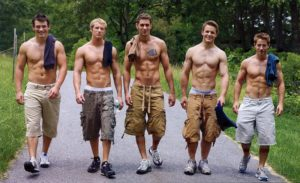 Hot guys in cargo shorts