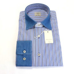 Cerruti Dress shirts banker-stripe