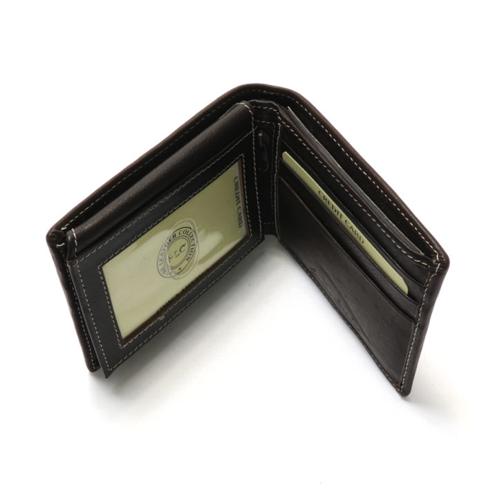 PLC Leather wallet for men