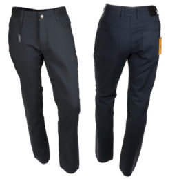 Albert-3 charcoal denim jeans