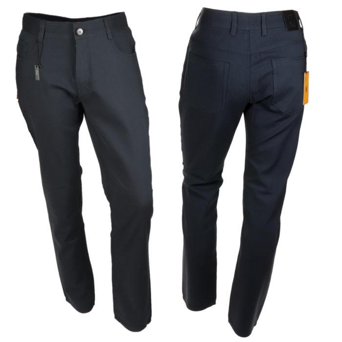 Albert-3 charcoal denim jeans