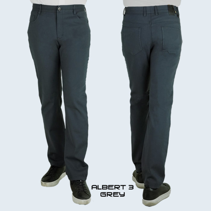 Albert-3 Charcoal Jeans