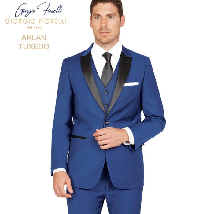 Arlan Blue Navy Tuxedo