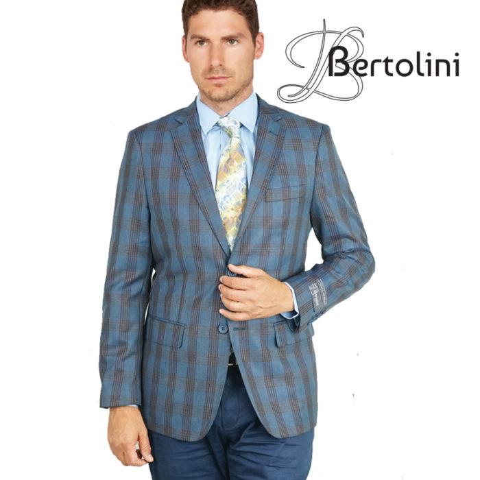 Bertolini windowpane sports jacket