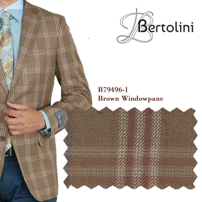 Bertolini windowpane sports jacket