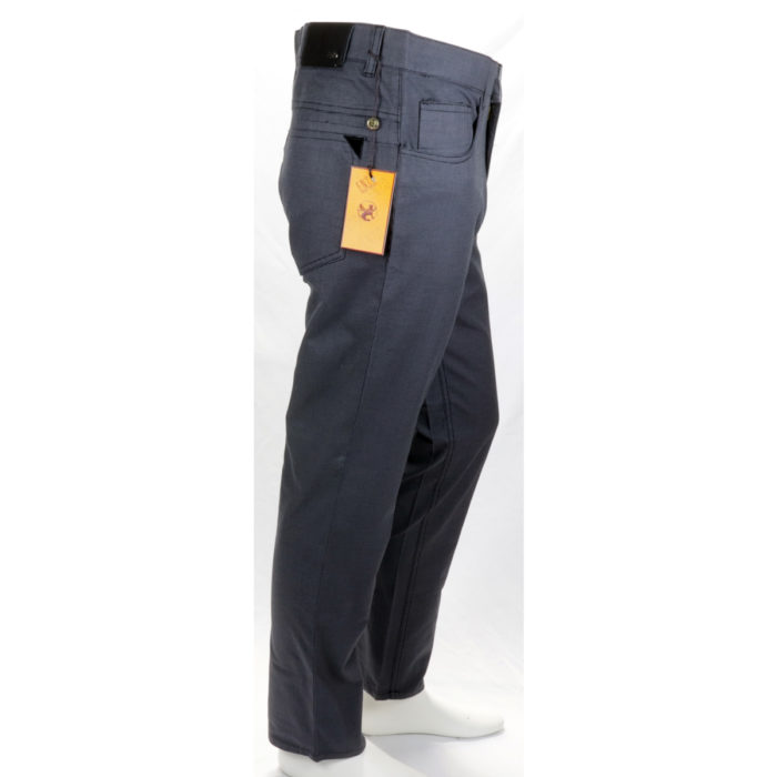 Grey Sharkskin Enzo Jeans Becker10