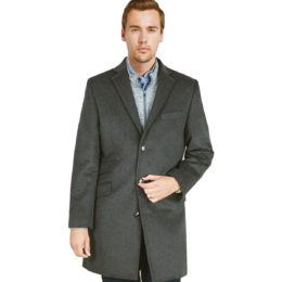 Car-coat cashmere jacket