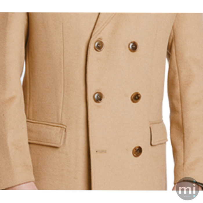 Enzo Grant over coat in Black or Camel