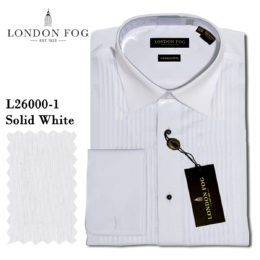 London Fog Lay-down tuxedo shirt
