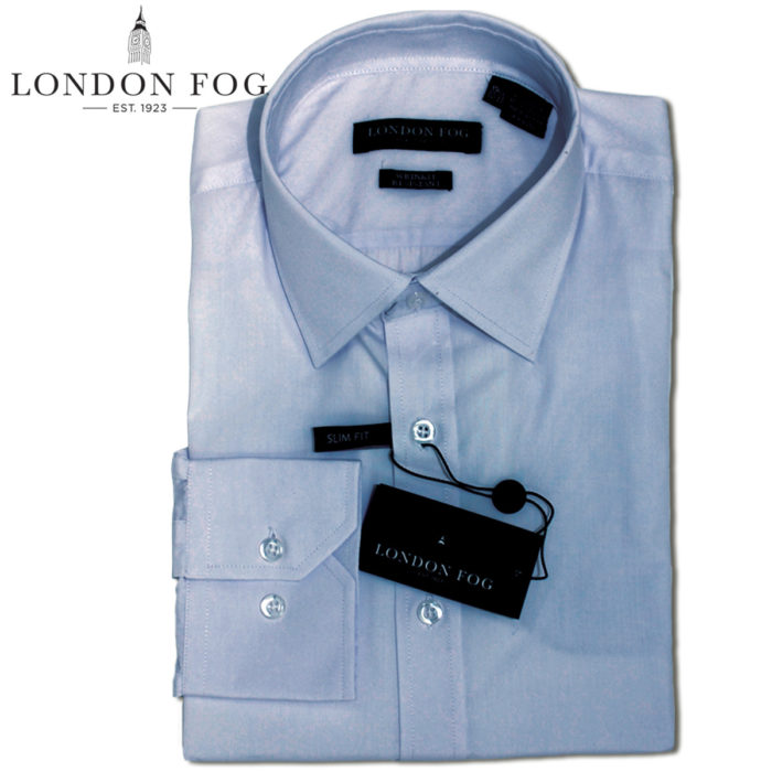 London Fog slim fit Dress Shirts