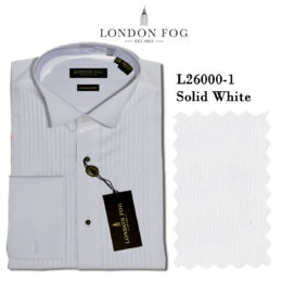 London Fog Wing Tip Tuxedo shirt