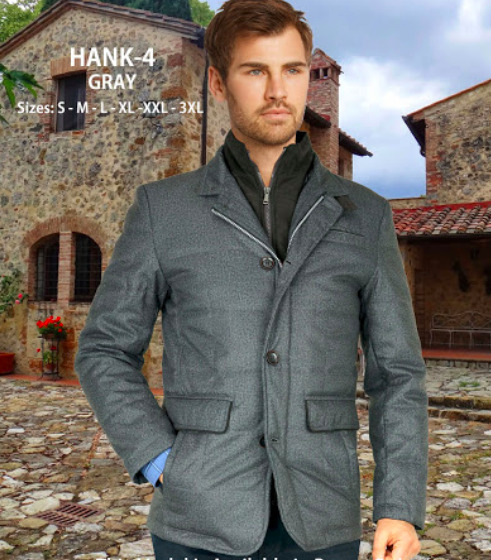 Hank Enzo Grey Jacket
