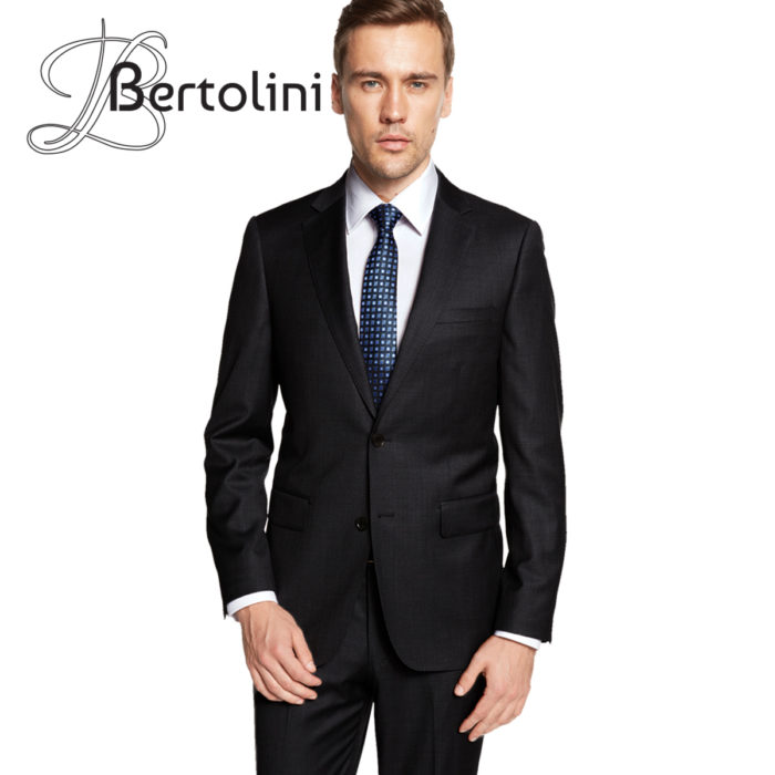 wool and silk 3 piece Bertolini suit