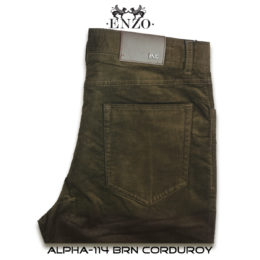 Alpha 114 Brown Denim Jeans