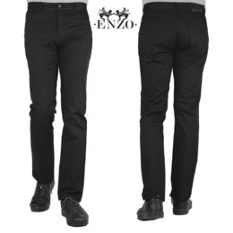 Enzo Alpha-119 black denim Jeans