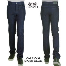 Enzo Dark Blue Alpa2 jeans