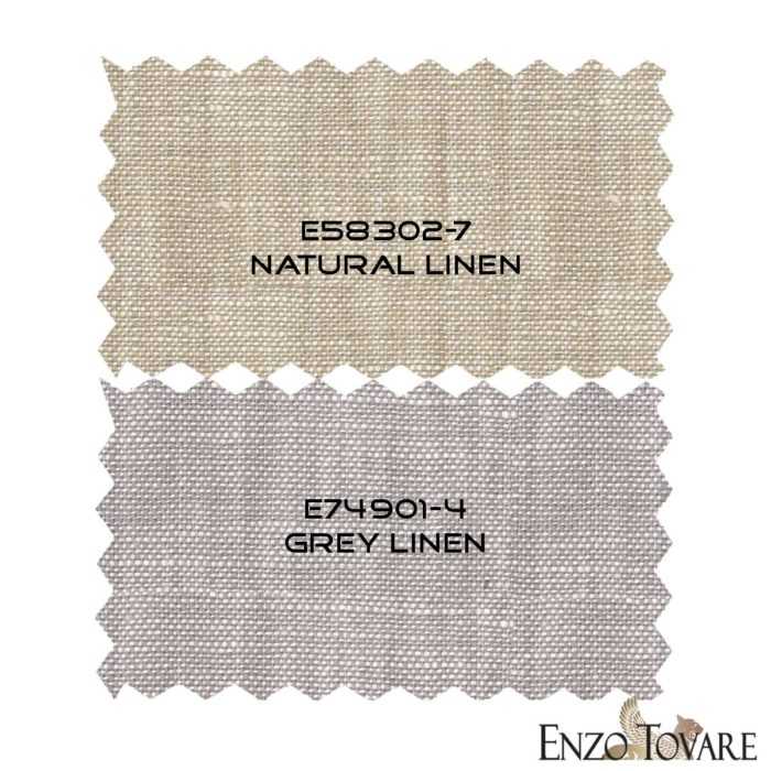 Enzo linen suits fabrics