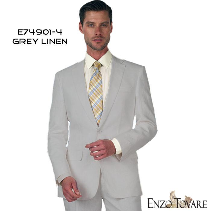 Enzo linen suits