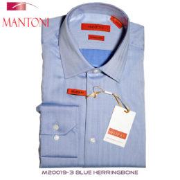 Mantoni Blue dress shirt