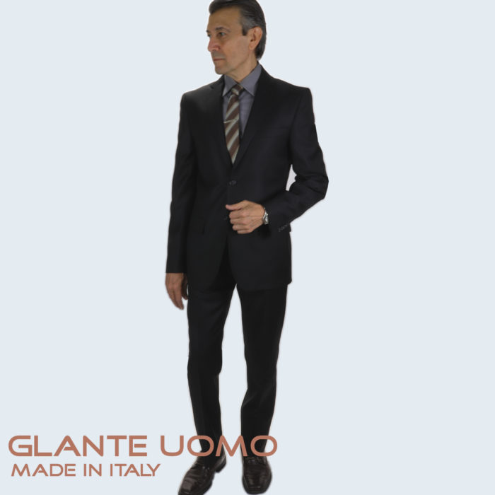 Galante wool suit Black
