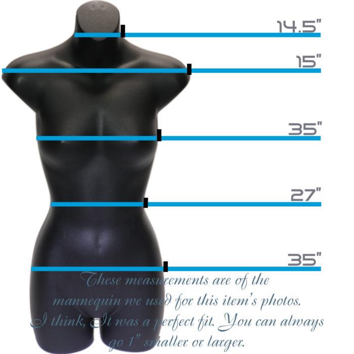 size mannequin