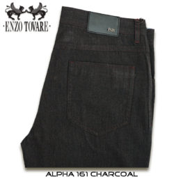 Alpha 161 Charcoal Grey Jeans