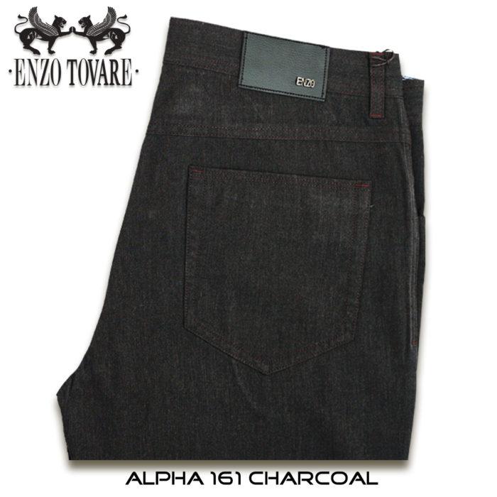 Alpha 161 Charcoal Grey Jeans