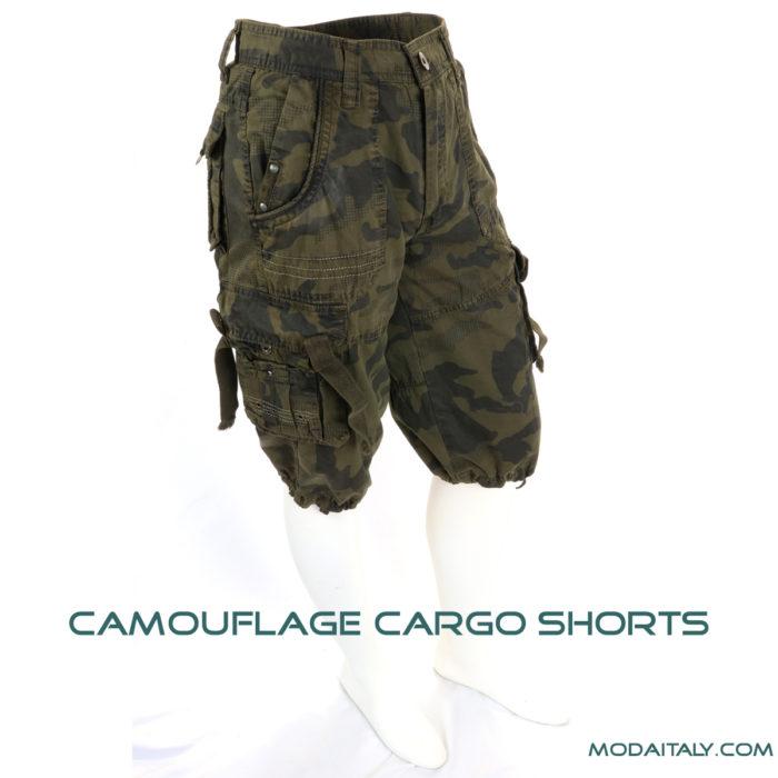 Di Na Hu Camouflage Cargo Short
