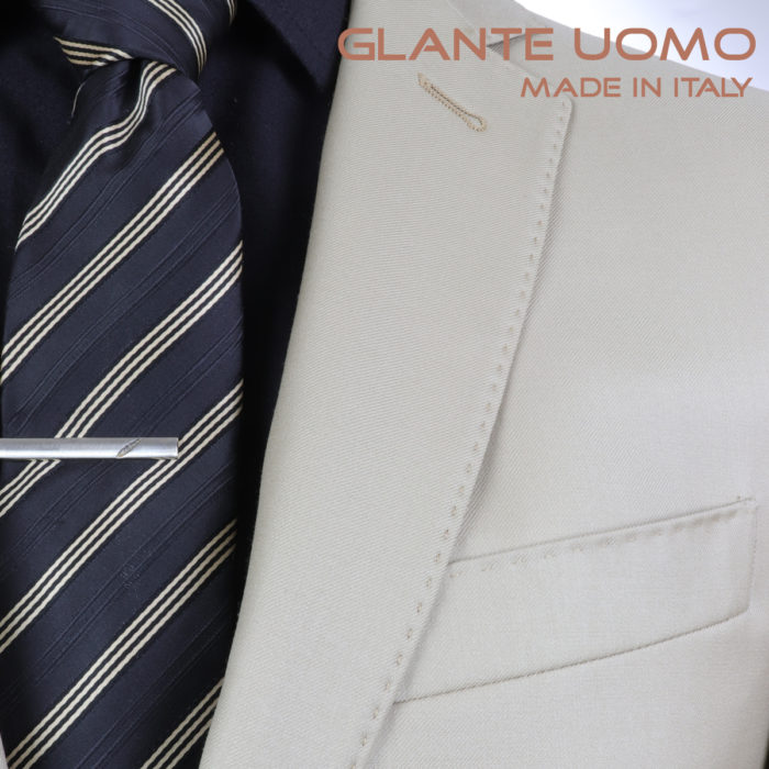 Galante Uomo Made in Italy Beige Suit
