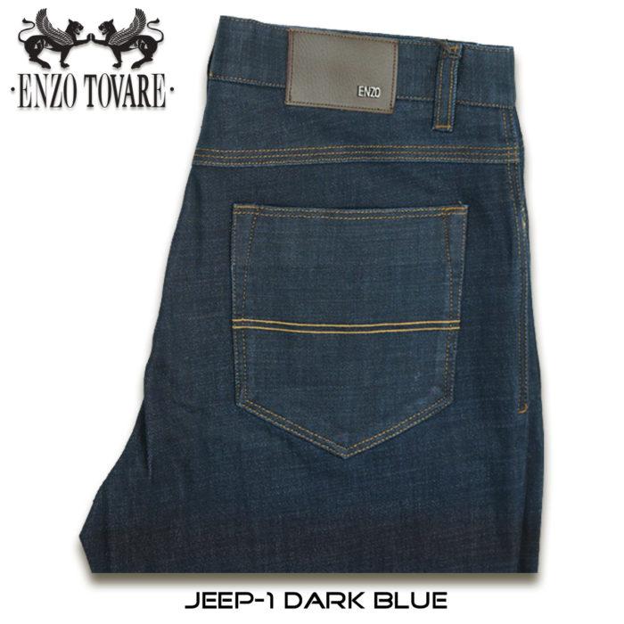Enzo Jeep Denim Jeans Blue