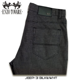 Enzo Jeep Denim Jeans Grey