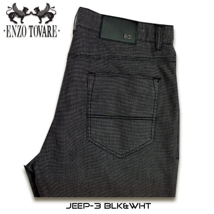 Enzo Jeep Denim Jeans Grey