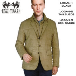 Logan Sports Jacket 3 colors