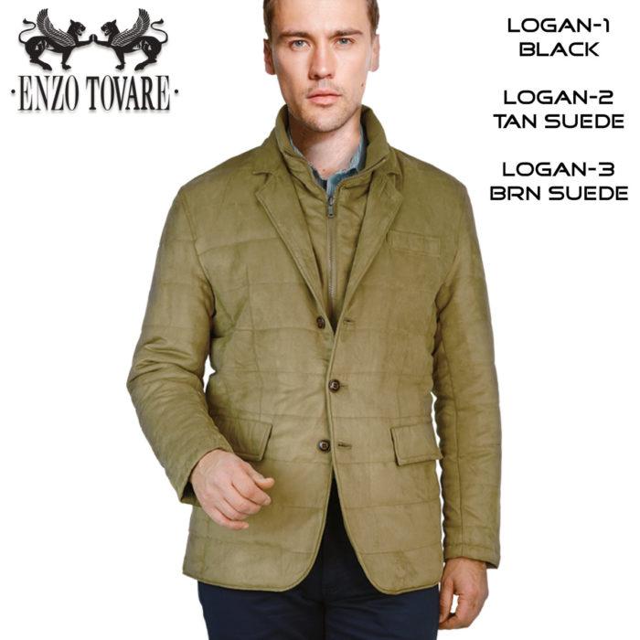 Logan Sports Jacket 3 colors