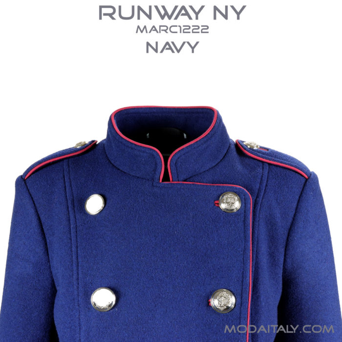 Military Trench Coat NVY