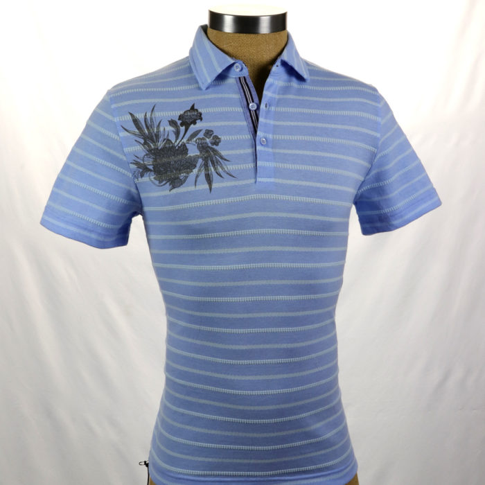 SMASH Polo Shirt Blue