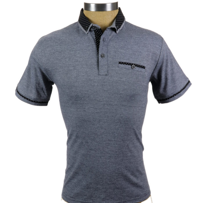 SMASH Polo Shirt Grey