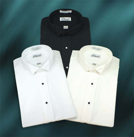 Boy's Microfiber wing Shirts 3 Colors